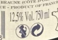 La Marche Bourgogne Chardonnay - Informations nutritionnelles - fr