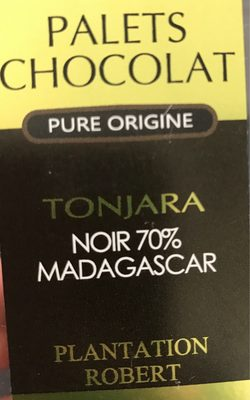 Palets chocolat - Produit