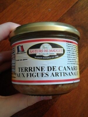 Terrine de canard aux figues artisanales - Produit - fr