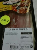 Jambon sec X 4 - Product