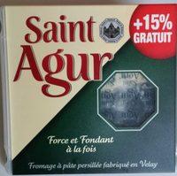 Saint Agur +15% gratuit - Produit - fr
