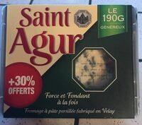 Saint Agur +30% offerts - Produit - fr
