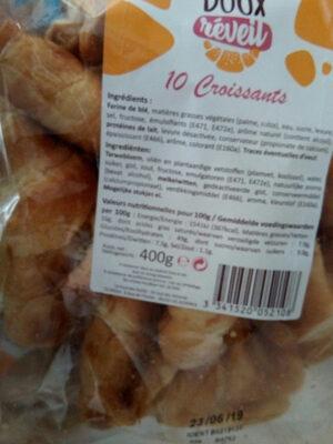 Doux réveil 10 Croissants - Product