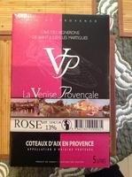 Vin rose la Venise provençale coteaux d'Aix en Provence AOP 13% - Product