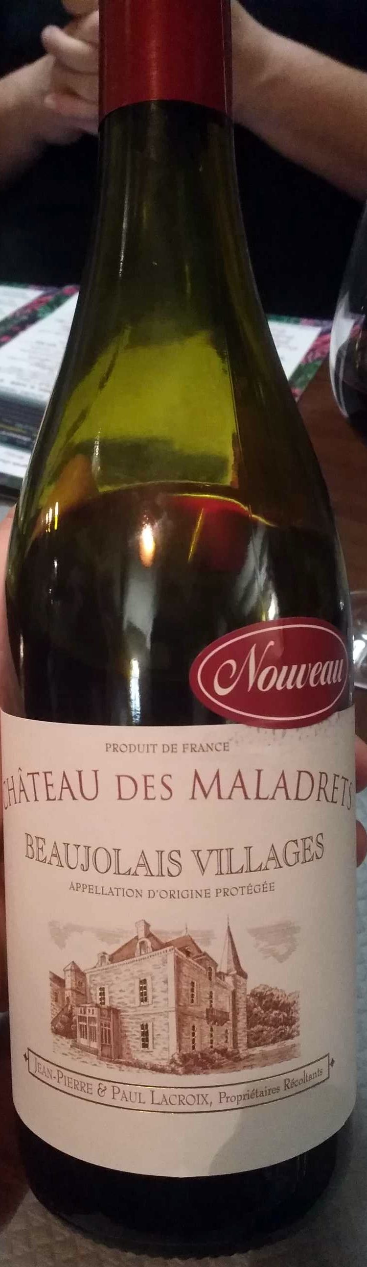 Beaujolais Villages 2017 - Produit