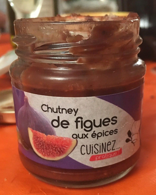Chutney de figues aux épices - Produit