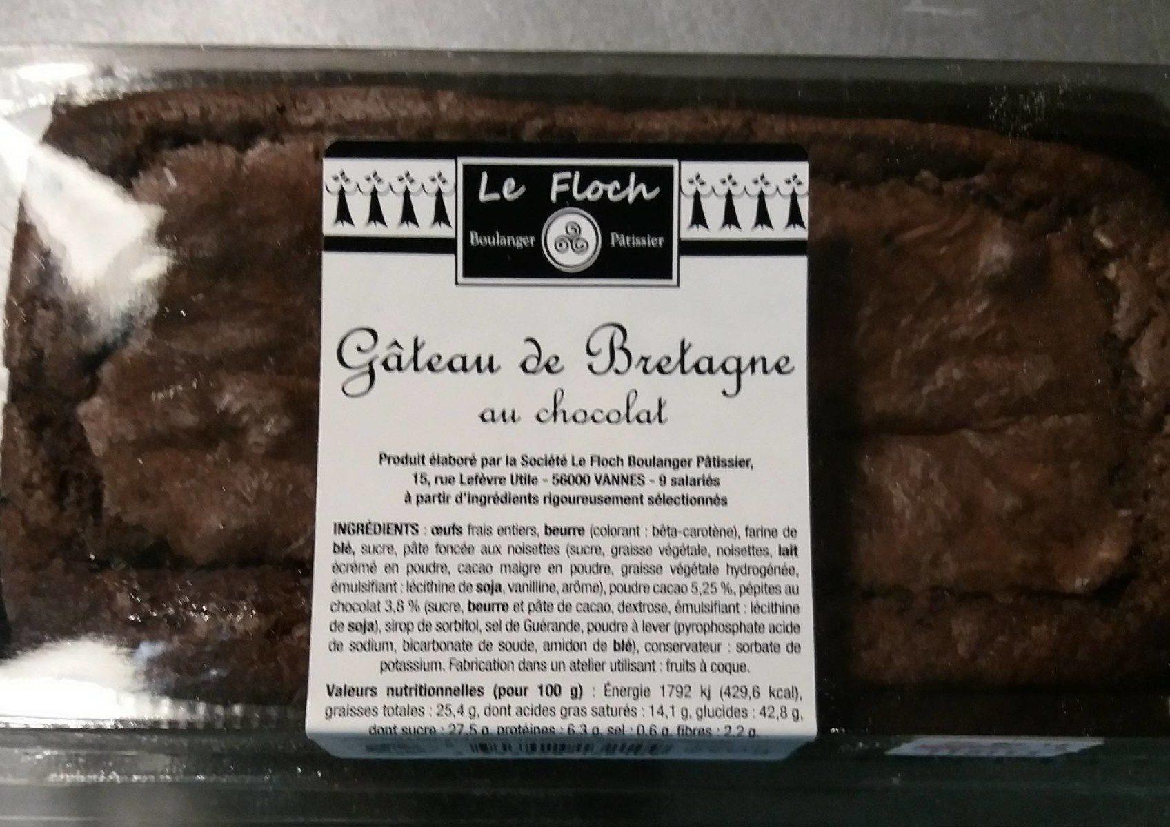 Gâteau de Bretagne au Chocolat - Produit