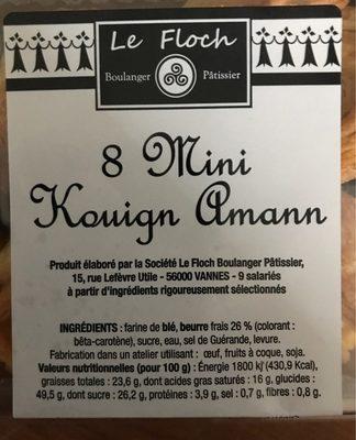 8 Mini Kouign Amann - Product