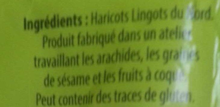 Lingot du Nord - Ingrediënten