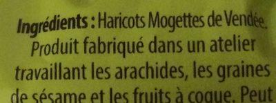 Mogette de Vendée - Ingrédients