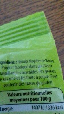 Mogettes de Vendée - Ingrédients