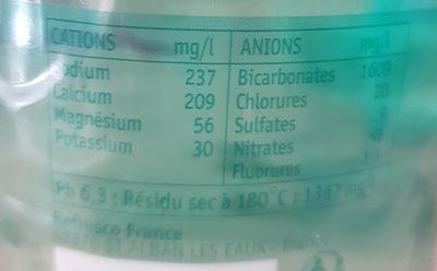 Faustine - Ingredients - fr