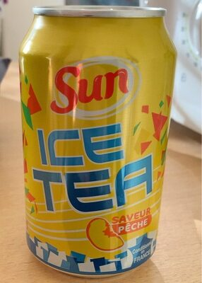 Ice Tea péche - Product - fr