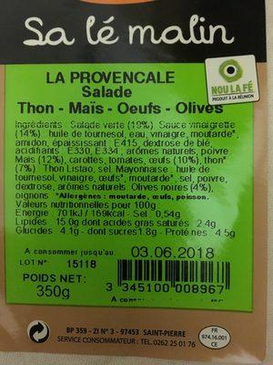 La Provençale - Product
