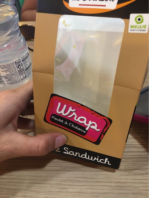 Wrap Poulet à l'indienne - Product - fr