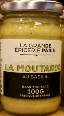 La Moutarde au Basilic - Produit - fr