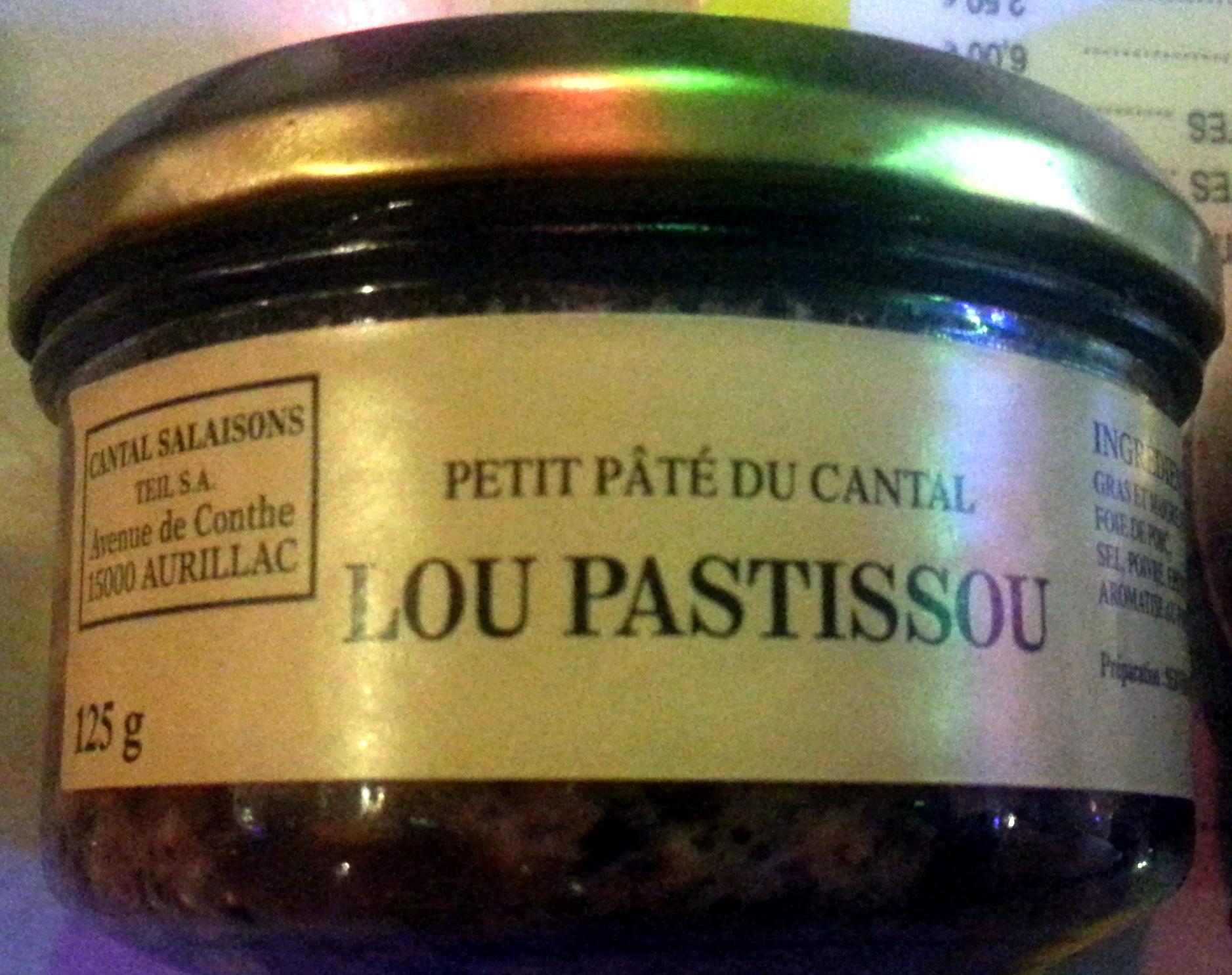 Petit Pâté du Cantal - Product