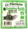 6 galettes de blé noir bio - Produit