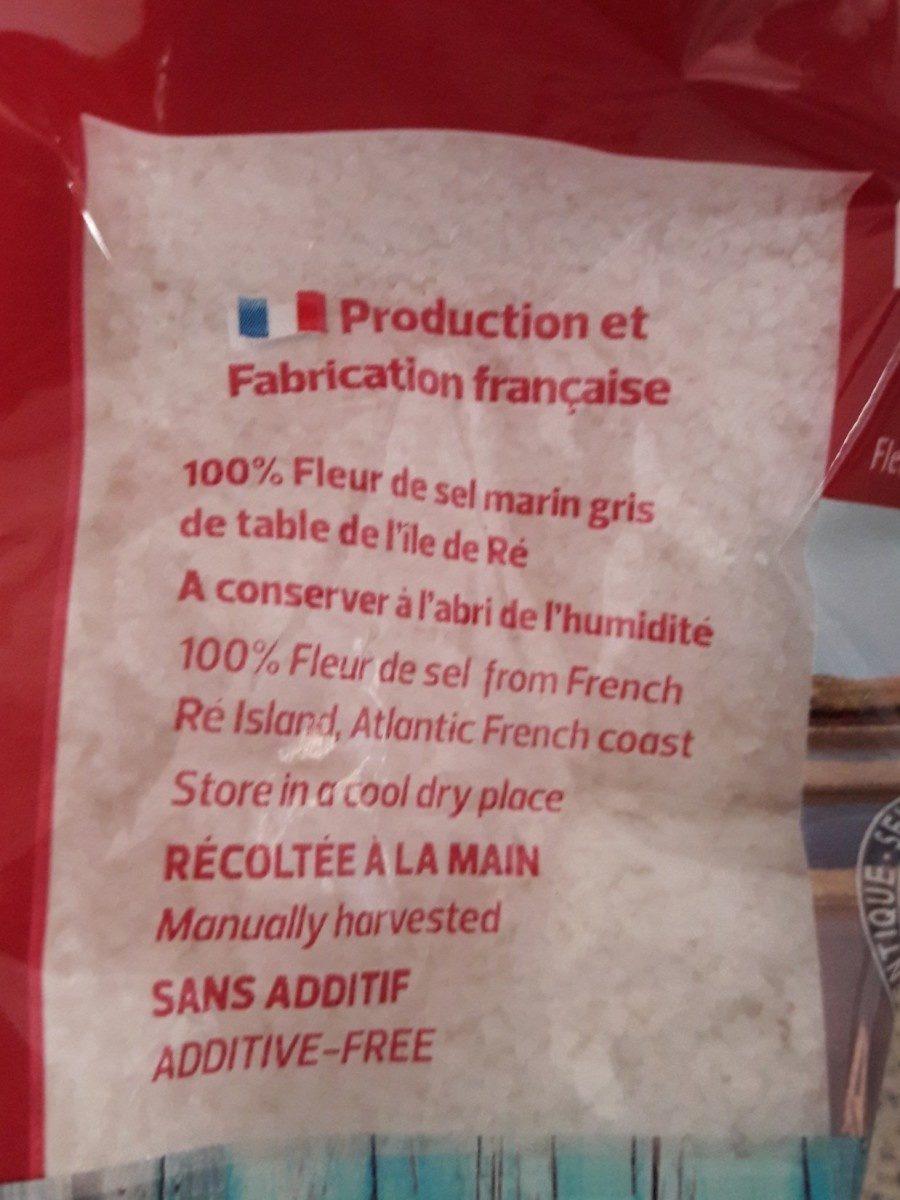Fleur de Sel de l'île de Ré - Ingredients