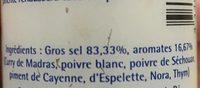 Gros sel de l'ile de re - Ingredients