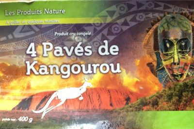 4 Pavés de Kangourou - Produit