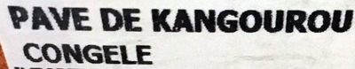 4 Pavés de Kangourou - Ingrédients