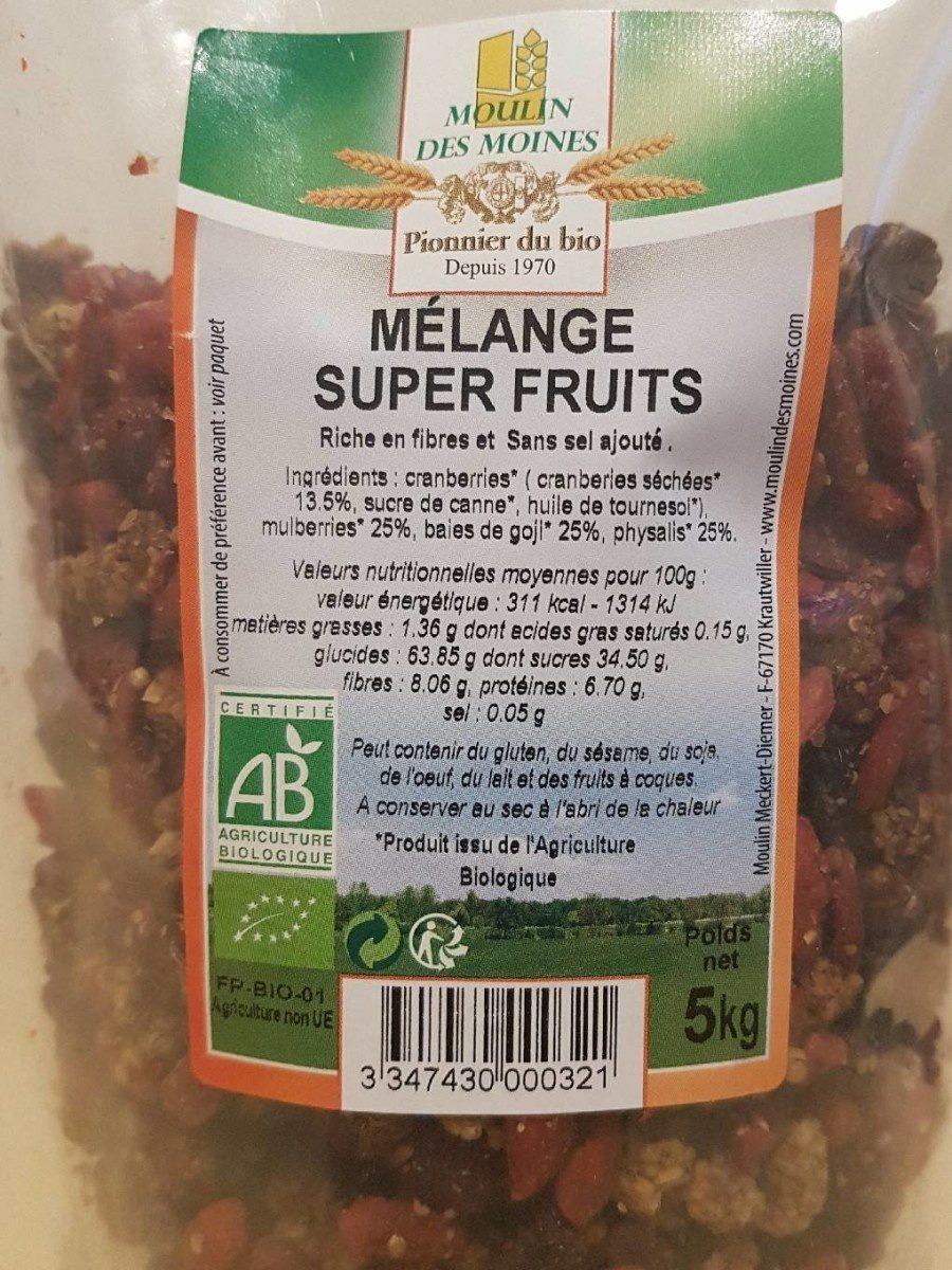 Mélange de fruits - Produit - fr