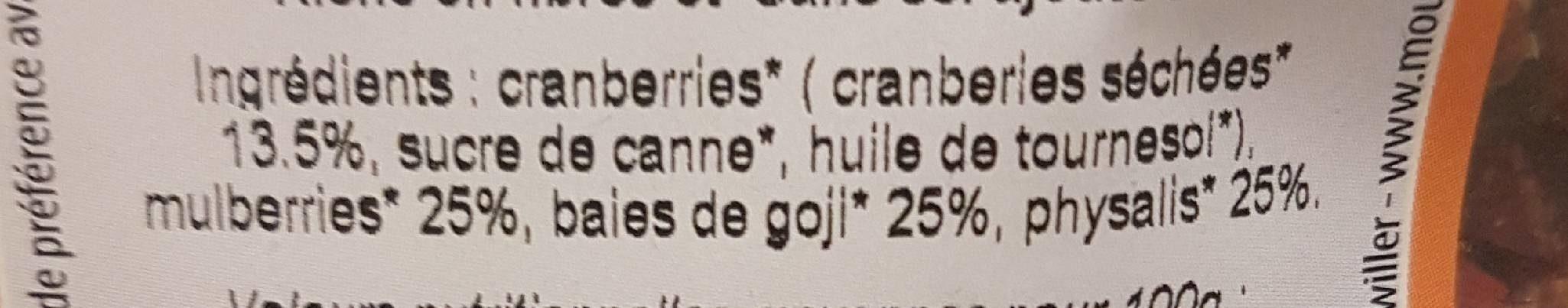 Mélange de fruits - Ingrédients - fr