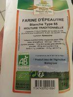 Farine d'épeautre blanche Type 65 - Product - fr