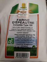 Farine d'épautre complète type 150 - Product