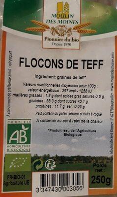 Flocons De Teff - Produit - fr
