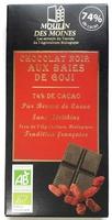 Chocolat noir aux baies de Goji - Produit