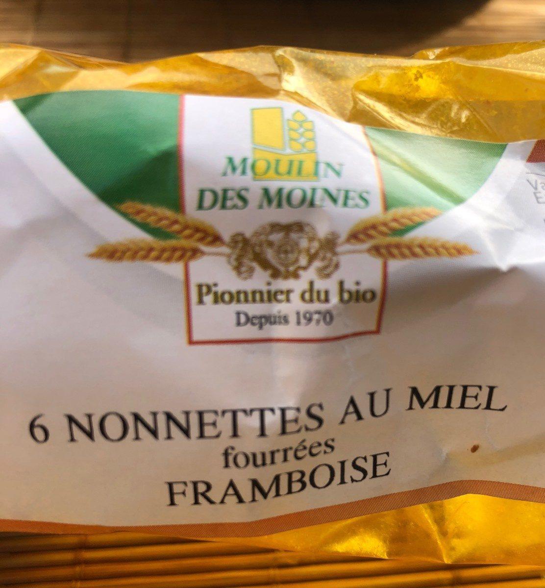 6 nonnettes au miel fourrées FRAMBOISE - Produit
