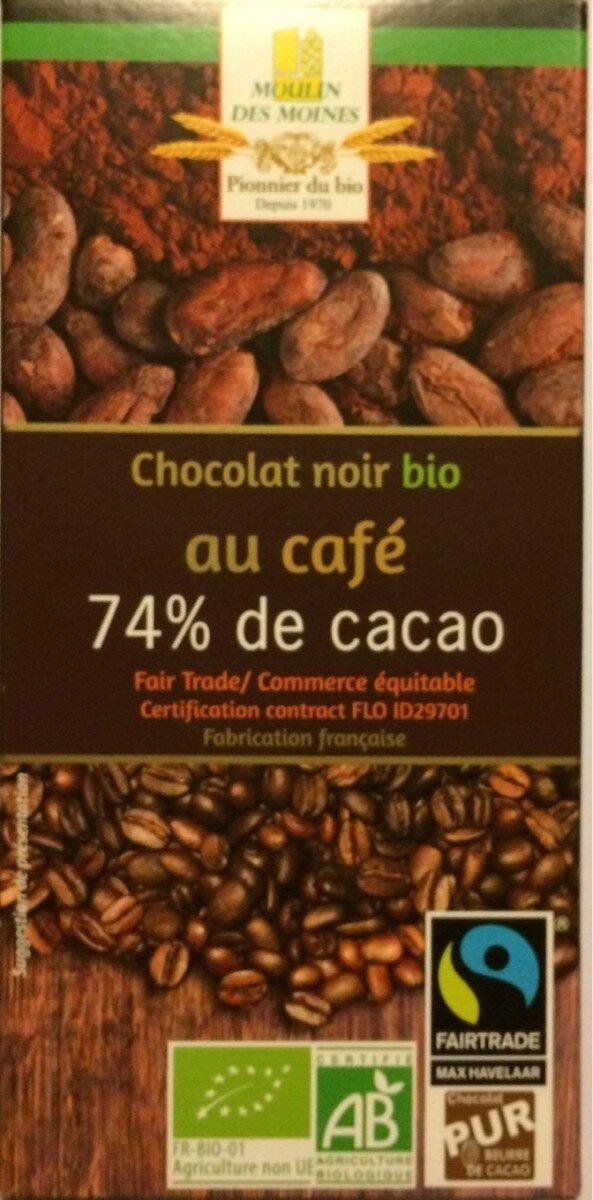 CHOCOLAT NOIR CAFE BIO EQUITABLE MAX HAVELLAR - Produit - fr