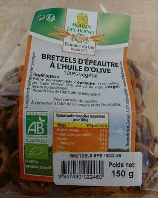 Bretzels d'épeautre à l'huile d'olive - Prodotto - fr