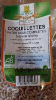 Coquillettes pâtes demi-complètes - Produit - fr