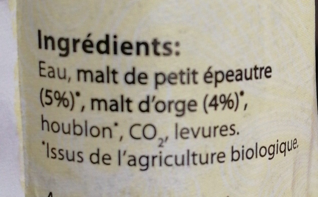 Biere Petit Epeautre - Product