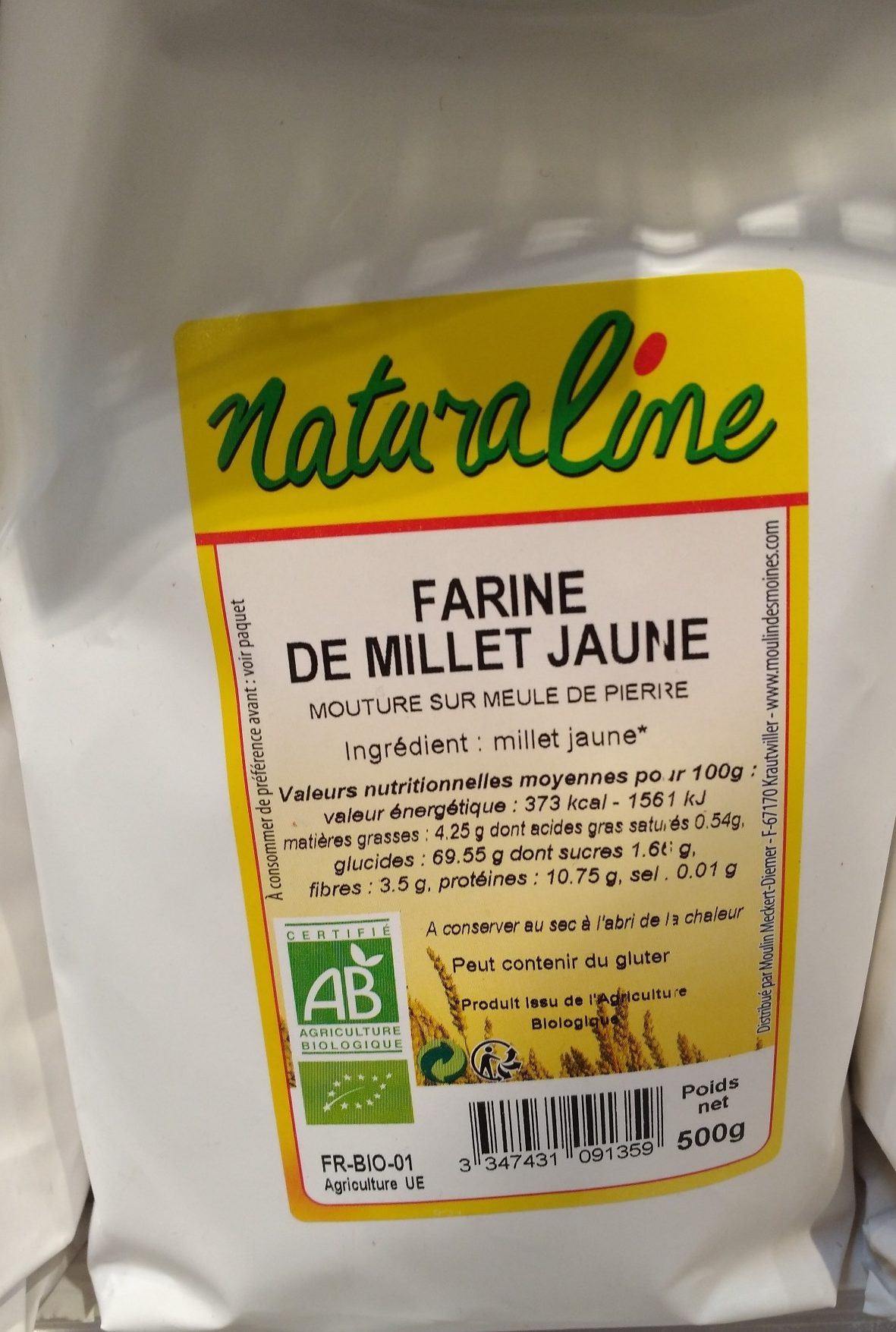 Farine de millet jaune - Produkt - fr