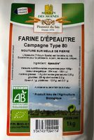 Farine d'épeautre Campagne Type 80 - Product