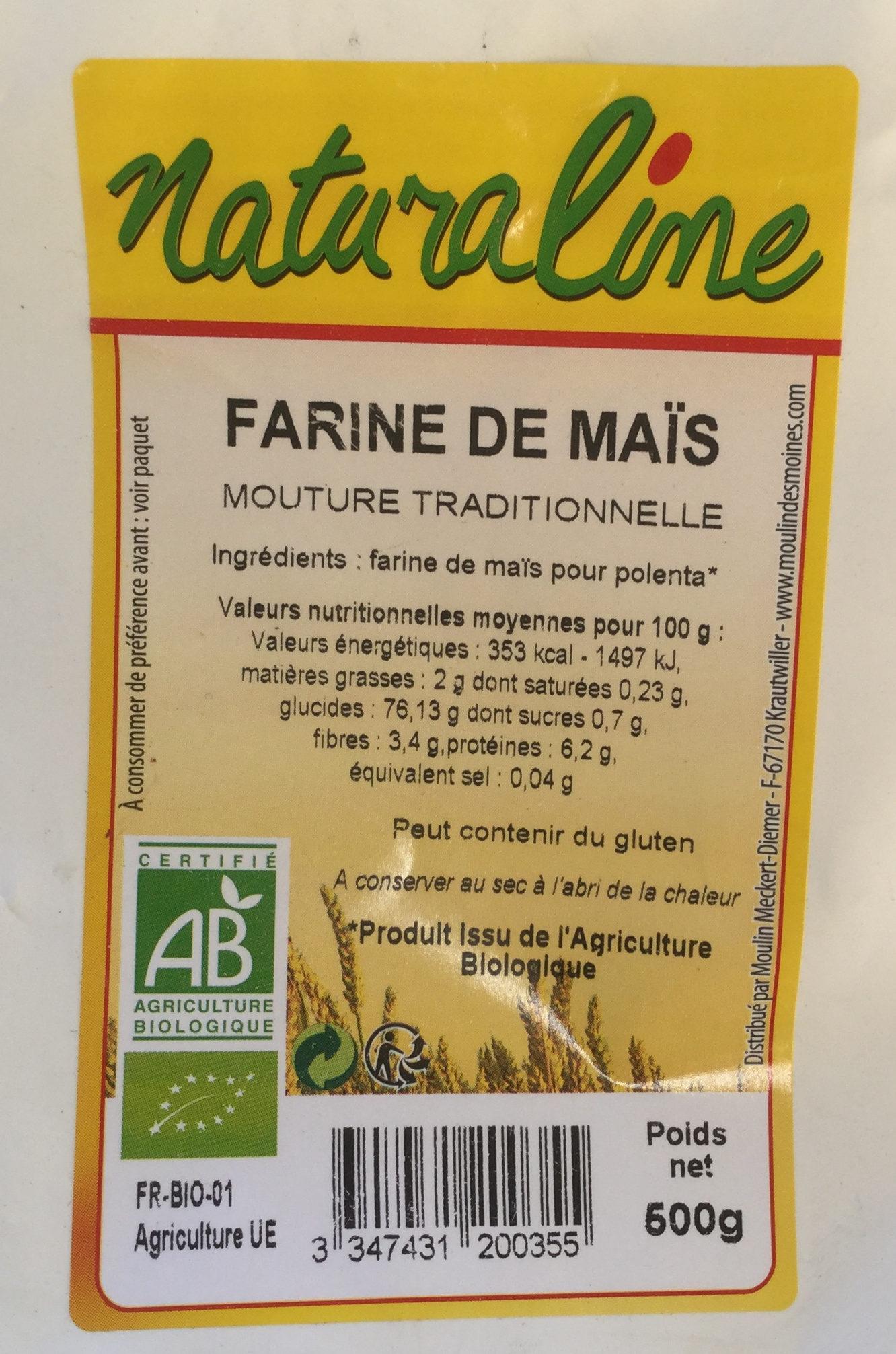 Farine de maïs - Product