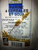 Farine 4 céréales et soja - Product