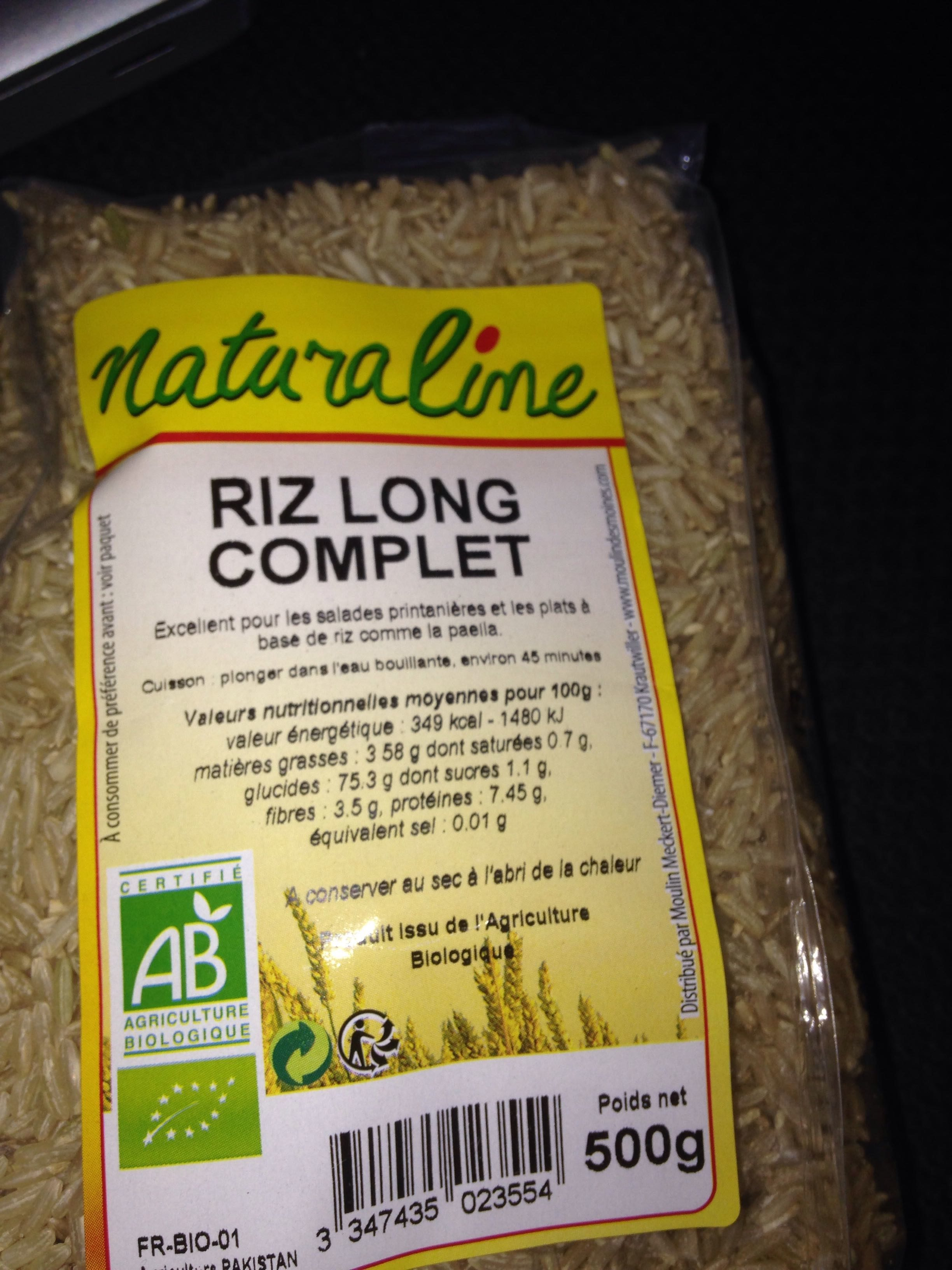 Riz long complet - Product - fr