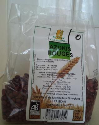 Azukis Rouges - Product