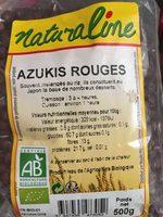 Azukis Rouges - Ingrediënten