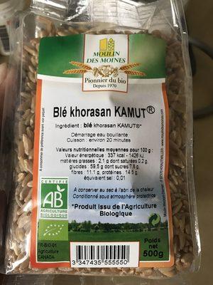 Blé khorasan KAMUT - Product - en