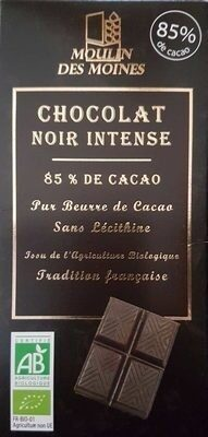 Chocolat noir intense 85% - Prodotto