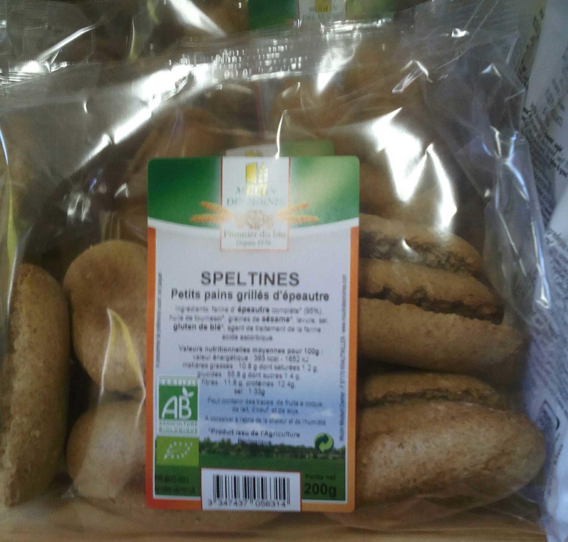Speltines - Produit - fr