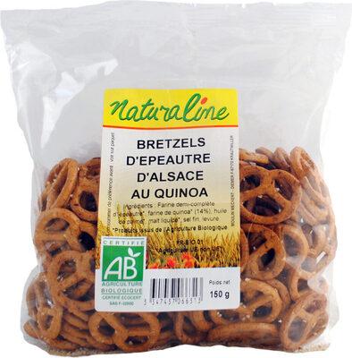 Bretzel epeautre quinoa - Prodotto