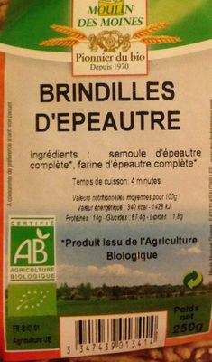 Brindilles d epautre - Product - fr