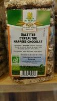 Galettes d'epeautre chocolat - Produit - fr